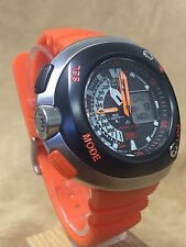 Citizen Eco-Drive Aqualand Promaster Orange Men's Diver Watch - JV0020-21F