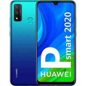HUAWEI P SMART 2020 AURORA BLUE 128 GB ROM 4 GB RAM DUAL SIM con servizi google