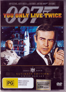 You Only Live Twice - Ultimate Edition (DVD, 2006, 2-Disc Set) James Bond 007