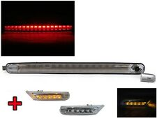 98-04 Porsche 911 996 Carrera Clear 3rd LED Tail Stop Brake Light + Side Marker