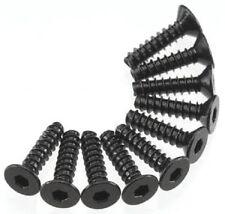 Axial Hex Socket Tap Flat Head M3x12mm Black (10) AXA466
