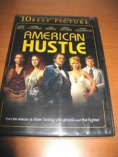 American Hustle (DVD, 2014): Christian Bale, Amy Adams NEW SEALED