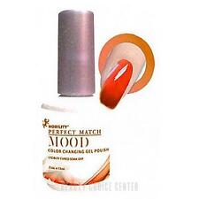 LeChat Mood Color Changing Soak Off Gel Polish - Sunset Beach - Frost - MPMG08