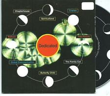 DEDICATED Shoegaze PROMO CD Spiritualized The Cranes Global Communications