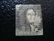 BELGIQUE - timbre - yvert et tellier n° 1 obl (A6) stamp belgium