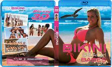 3D Bikini Beach Babes Issue #4 Blu-Ray 3D NICE! 3-D Bluray Movie!