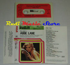 MC ABBE LANE Pan amor y..1981 1 stampa italy RCA LINEATRE NK 43613 cd lp dvd vhs