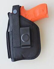 Gun Holster Hip Belt For Glock 19,23, 25, 32 & 38 with CRIMSON TRACE GREEN LASER