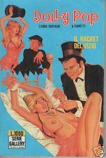 DOLLY POP  -  IL RACKET DEL VIZIO -  serie Gallery n. 6