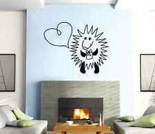 Hedgehog Pet Present Gift Birthday  Mural  Wall Art Decor Vinyl Sticker z491