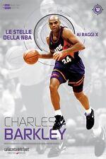 LIBRO BOOK N° 12 CHARLES BARKLEY LE STELLE DELLA NBA AI RAGGI X HOUSTON PHOENIX
