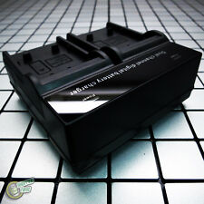 DUAL SLOT Battery Charger for JVC GZ-HM445SEK/HM448/HM450-B/R/S/HM450AUS/HM450U