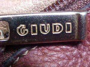 vintage/authentic GIUDI BUCKET tan-leather HANDBAG Shoulder PURSE~made in ITALY