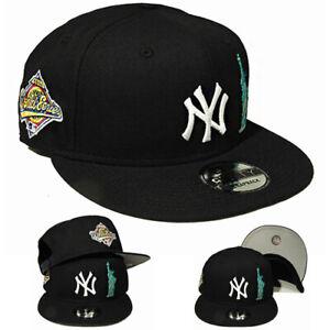 New Era New York Yankees 1996 World Series Snapback Hat statue of liberty Patch