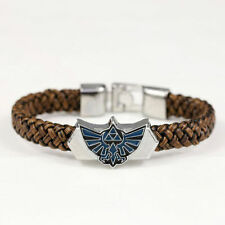 The Legend of Zelda Link Leather Bracelet Wristband Cosplay Anime Nintendo NEW
