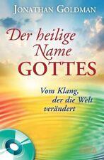 Der heilige Name Gottes - Jonathan Goldman - 9783939373797 PORTOFREI