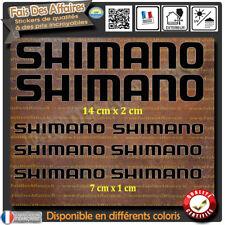 8 Stickers Autocollants shimano Adhésifs Sponsor Marques déco velo
