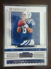2019 Panini Contenders Peyton Manning Indianapolis Colts WT-3 Winning Ticket