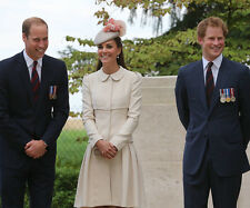Catherine, Duchess of Cambridge & Prince Harry UNSIGNED photo - H5837