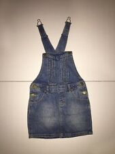 Preowned- Gap Kids Overall Denim Dress (Size XS)