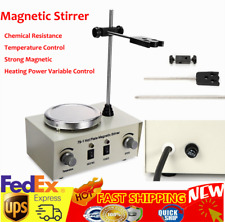 Magnetic Stirrer Mixer Stirring Machine Thermostatic Heat Hot Plate Dual Control