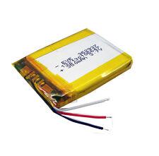 3.7V 350 mAh Li-polymer Rechargeable Battery Li-Po Three-wire 362937 for GPS mp3