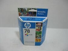 HP 78 Tri-Color Ink Cartridge C6578DN New Genuine Factory Sealed Box OEM