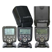 Yongnuo YN560TX LCD Wireless Flash Controller+2pcs YN560 III Flash kit For Canon