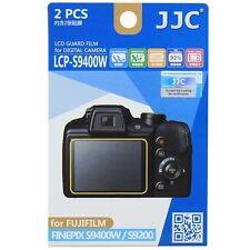 JJC LCP-S9400W LCD Screen Protector Guard Film Cover for Fujifilm FINEPIX S9400W