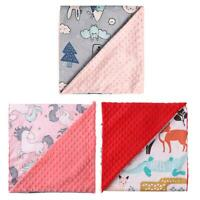 Baby Swaddles Wrap Soft Newborn Blankets Infant Stroller Cover Play Mat #JT1