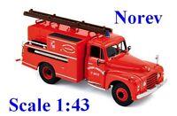 Citroen T46 Pompe Guinard Sapeurs Pompiers Saint-Avit - Norev -  Echelle 1/43