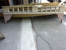 c1882 VICTORIAN GINGERBREAD porch spandrel FRETWORK pediment ~ FANCY 90.5 x 25.5