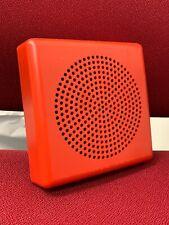 Wheelock E50 Speaker Fire Alarm Red 0512