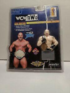 WCW NWO Nitro Goldberg Memory card N64 Nintendo 64  Factory Sealed!!! New!!!
