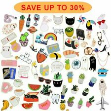 Wholesale Cartoon Enamel Piercing Brooch Pin Collar Badge Corsage Women Hot Gift