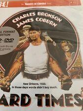 Hard Times - NEW Blu-ray & DVD Charles Bronson