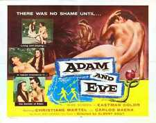 Adam And Eve Poster 02 A2 Box Canvas Print