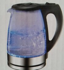ROYALTY LINE Design Glas Wasserkocher 1,7L LEDs Blau Licht 2200W