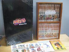 SHONEN JUMP NARUTO SHADOW BOX SET Vol. 1-27 1999 GRAPHIC NOVELS