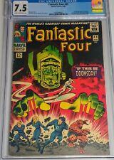 Fantastic Four 49 CGC 7.5 1st Galactus!