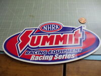 SUMMIT RACING SERIES GLOSSY Sticker/ Decal  Automotive OLD STOCK ORIGINAL PERF