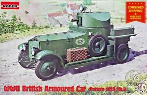 Roden 731 - 1/72 - British Armoured Car (Pattern 1920 Mk.I) plastic model kit