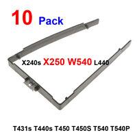 10pcs/Pack Lenovo Thinkpad X240 X250 X260 HDD Caddy Bracket Frame Hard drive
