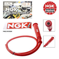 NGK Racing Cable 8089 CR3 For ATV & Motorcycle Straight Cap - 5 Ohm Resistance