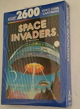 NEW Sealed W/CRUSHED BOX Space invaders for Atari 2600 PAL BLUE BOX NOT FOR USA