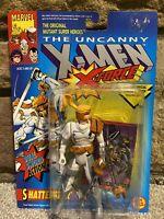Marvel Comics X-Men X-Force  SHATTERSTAR Action Figure ToyBiz Vintage 1993