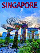 Singapore Marine Dream Southeast Asia Asian Travel Advertisement Art Poster
