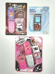Handy Kinder Telefon Smartphone Spielzeug Touch Musik Licht Mädchen Schmuck