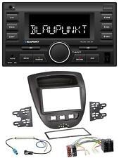 Blaupunkt MP3 USB 2DIN Bluetooth AUX Autoradio für Toyota Aygo Peugeot 107 Citro