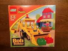 LEGO 3595 duplo Scoop at Bobland Bay Bob the builder series New in Box
